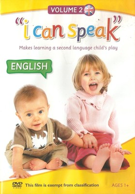 """i can speak"" English Volume 2 (DVD)"