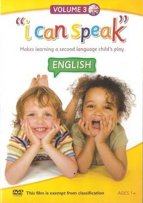 """i can speak"" English Volume 3 (DVD)"