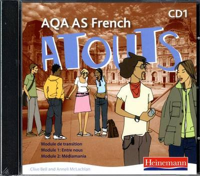 Atouts: AQA AS French Audio CD Pack of 2