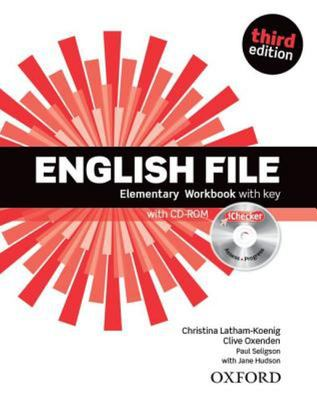 English File 3e Elementary Workbook with iChecker with key