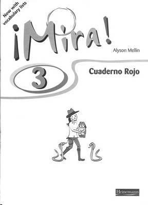 Mira 3 Rojo workbook (pack of 8)