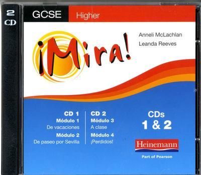 Mira AQA/OCR GCSE Spanish Higher Audio CD Pack