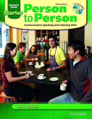 Person to Person 3rd Edition Starter Student Book with Audio CD