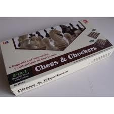 Chess & Checkers Magnetic 12""