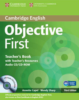 Objective First Teacher's Book with Teacher's Resources Audio CD/CD-ROM