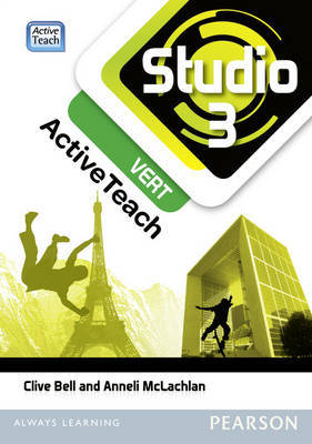 Studio 3 Vert Active Teach (11-14 French)
