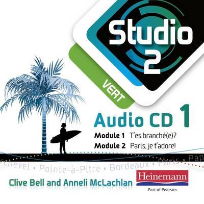 Studio 2 (vert) Audio CD set - OLD STOCK