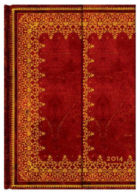 2014 Diary Foiled (Day-at-a-Time Midi Wrap Format)