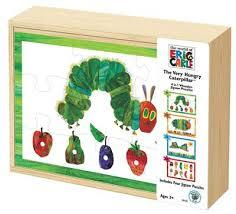 The Very Hungry Caterpillar 4-in-1 Wooden Puzzle