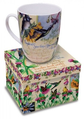 Look at the Birds Garden Mug