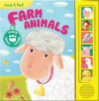 Farm Animals Touch & Feel Sound Book