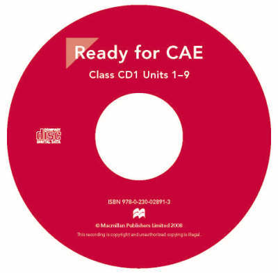 New Ready for CAE: Audio CD