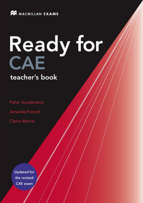New Ready for CAE: Teacher's Book