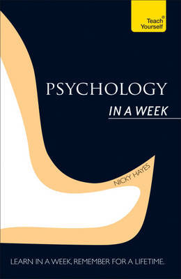 Teach Yourself Psychology in a Week