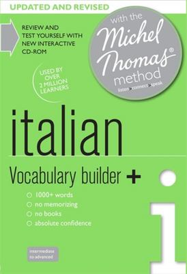 Italian Vocabulary Builder+ with the Michel Thomas Method