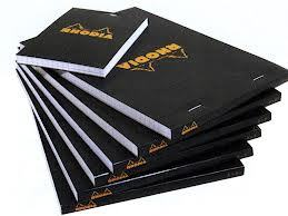 Rhodia premium #16 ruled black
