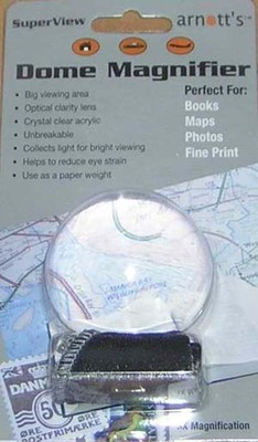LDM60  Acrylic Dome Magnifier 60mm