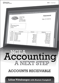 NCEA Accounting -  a Next Step: Accounts Receivable