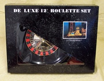 """Deluxe 12"""" Boxed Roulette Set"""