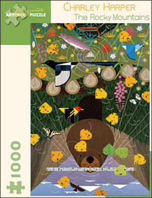 Charley Harper: The Rocky Mountains - 1,000 Piece Puzzle
