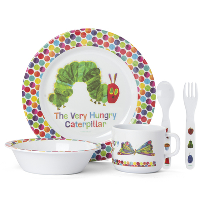 The Very Hungry Caterpillar 5-piece Dinner Set
