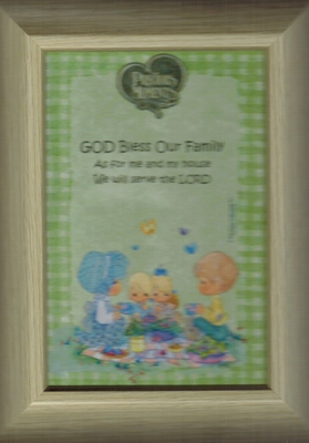 Framed Picture - God Bless Our Family