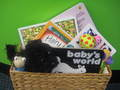 A Baby Books Gift Basket