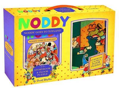 Noddy Goes to Toyland Book and Floor Puzzle