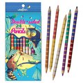 Coloured Pencils Racoon/Owl Double Ended (24 colours) pk12