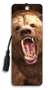 Grizzly Bear 3D Bookmark