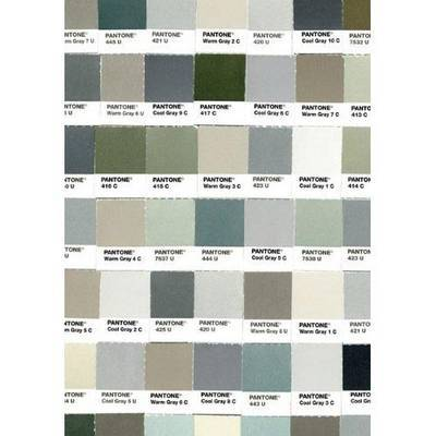 Pantone: 50 Shades of Gray Flexi Journal