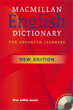 Macmillan English Dictionary for Advanced Learners Book +cd 2 Ed