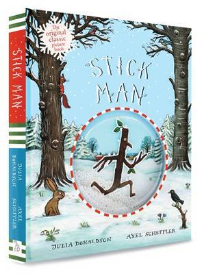 Stick Man Snow Globe Gift Edition