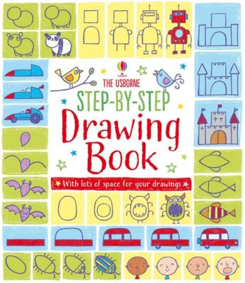 The Usborne Step-by-Step Drawing Book