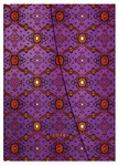 2014 Diary French Ornate Violet (Day-at-a-Time  Midi Wrap Format)
