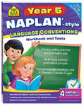 Naplan-Style Workbook: Year 5 Language Conventions Sz