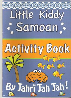 Little Kiddy Samoan Activity Book
