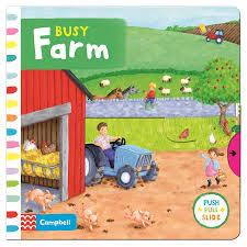 Busy Farm (Push Pull Slide)