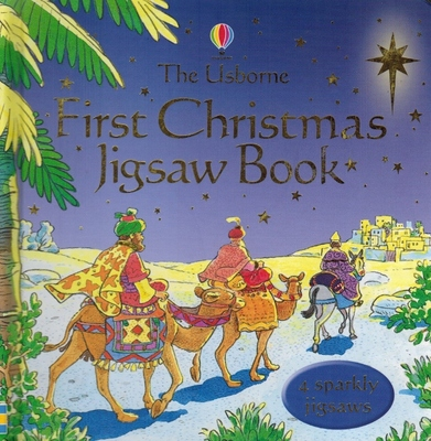 Usborne First Christmas Jigsaw Book