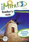 Mira 3: Verde Teacher's Guide with CD Rom