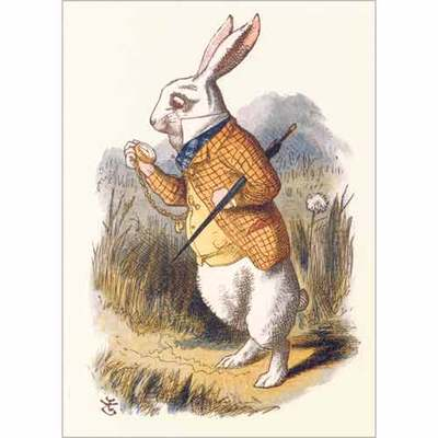 Card - The White Rabbit MGKSB251561