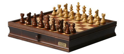 "L2204DR Walnut Chess 16"" BOARD ONLY"
