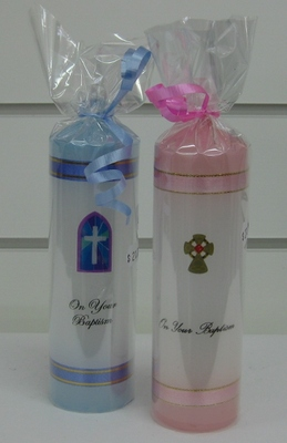 Baptism Candle Small