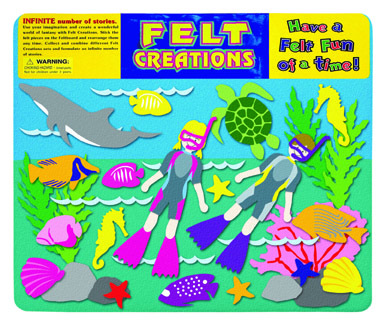Aquatic Diving Felt Creations