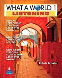 What a World Listening 1 (st book and audio CD)