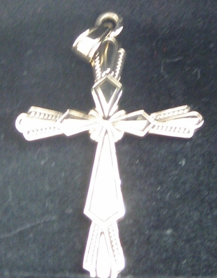 Pendant Cross Bronze/Copper