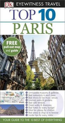 Paris Top 10 DK Eyewitness Travel Guide