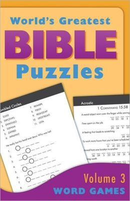 Worlds Greatest Bible Puzzles #3 Word Games
