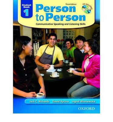 Person to Person Level 1 Student Book with Audio CD