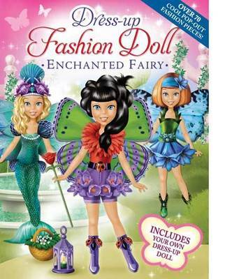 Enchanted Fairy Dress-Up Fashion Doll